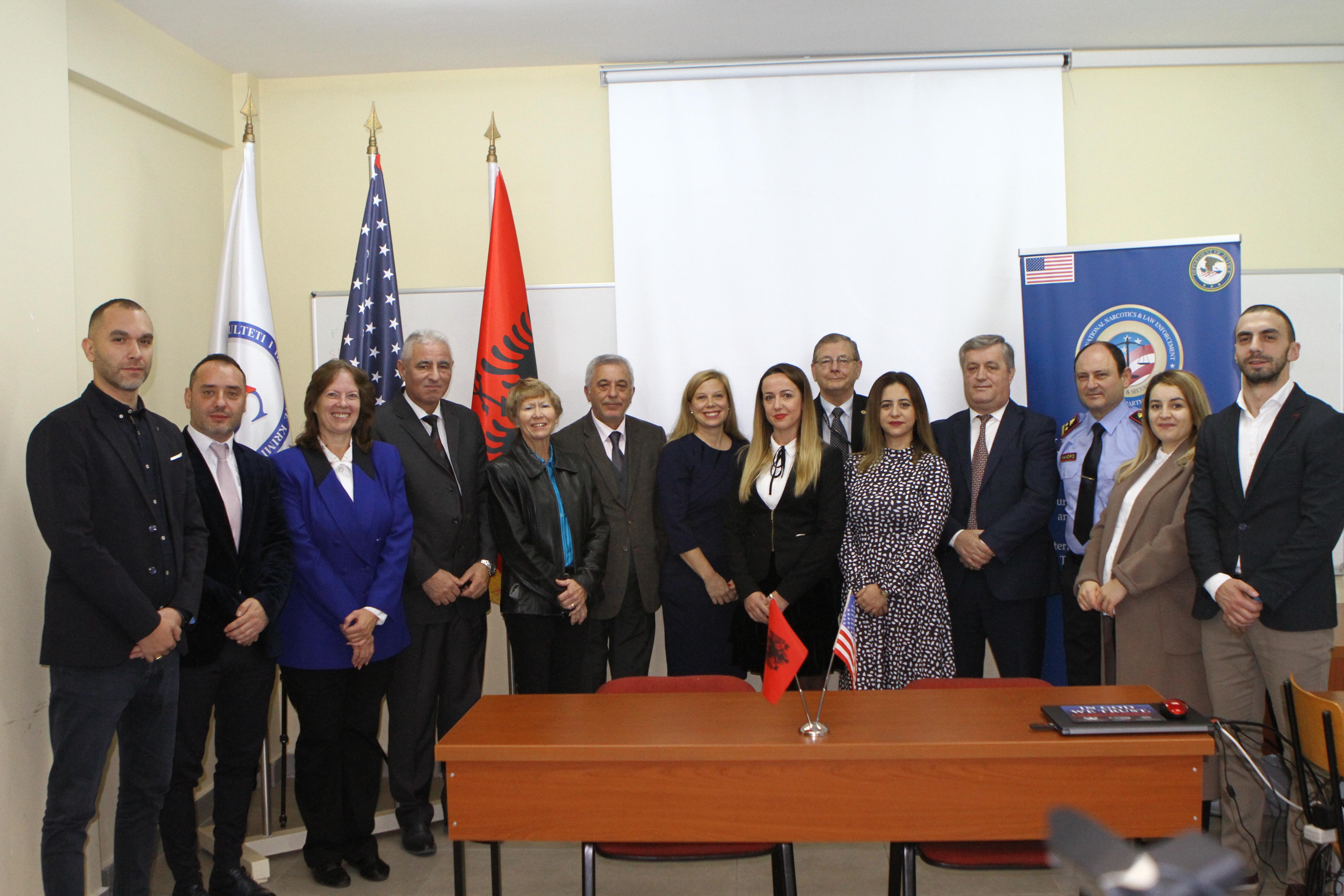 ICITAP-i  i dhuron pajisje poligrafi Ministrisë së Brendshme